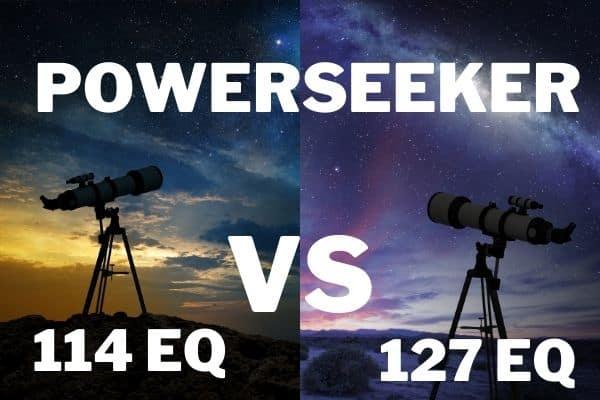 Celestron PowerSeeker 114EQ vs PowerSeeker 127EQ