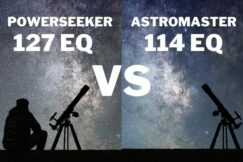 Celestron PowerSeeker 127EQ vs AstroMaster 114EQ