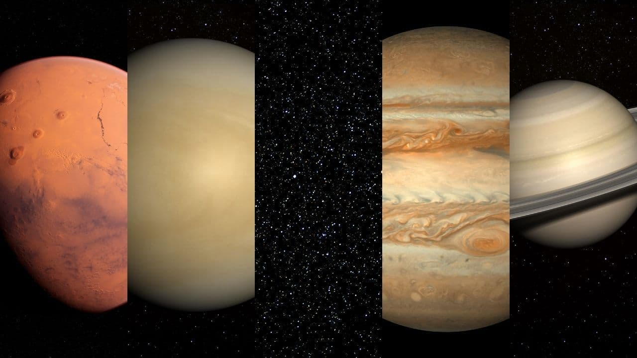 Which Planets Are Visible Without A Telescope
