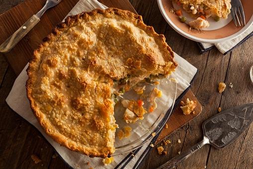 Cornbread Chicken Pie