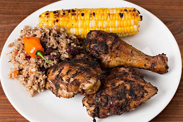 Traditional Jamaican Jerk Chicken