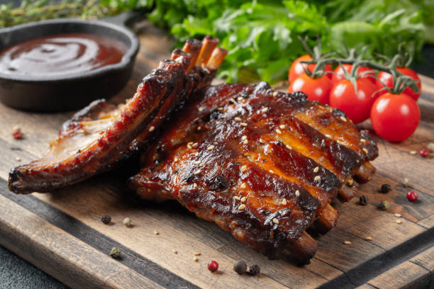 Smoky Barbecue Ribs and the Best BBQ Sauce