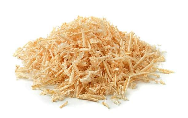pine flakes