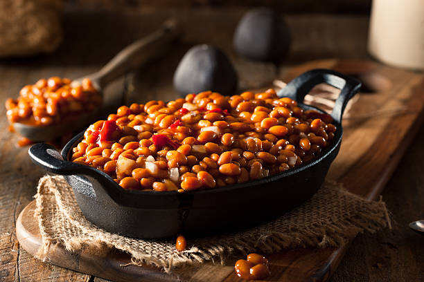 Barbecue Baked Beans with Jack Daniels Whiskey