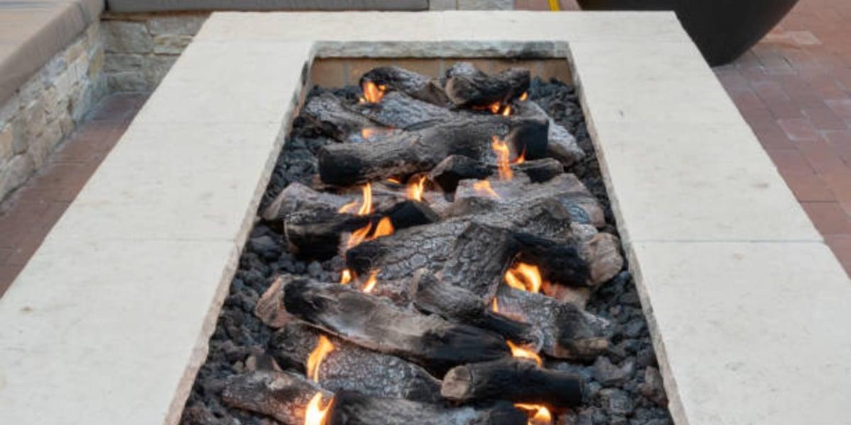 LAVA ROCKS fire pit